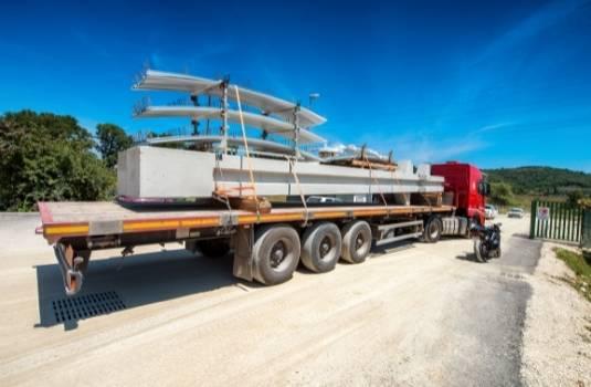 metal building material transportation