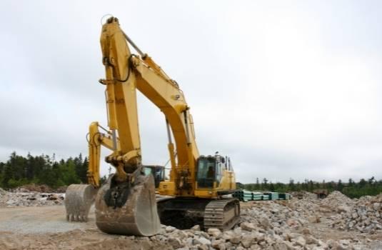 metal building site preparation